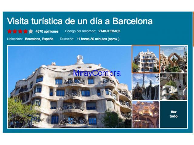 Excursiones y visitas guiadas en Barcelona