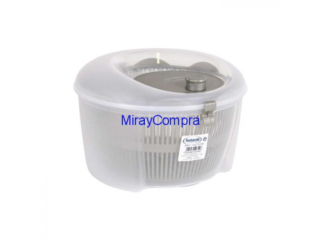 Centrifugadora ensalada 4,5L Rucula Transp/oro