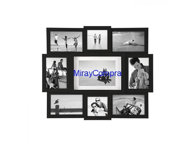 Multimarco 9 fotos negro