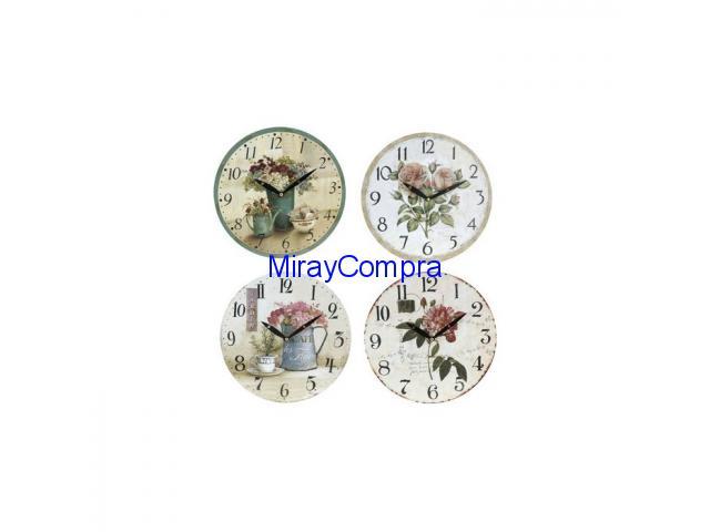 Reloj de pared Café des Fleurs
