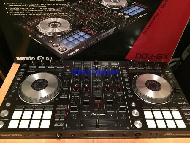 En venta Pioneer CDJ 850K,Pioneer DDJ-SX, Pioneer CDJ - 2000 Nexus, Pioneer RMX-1000