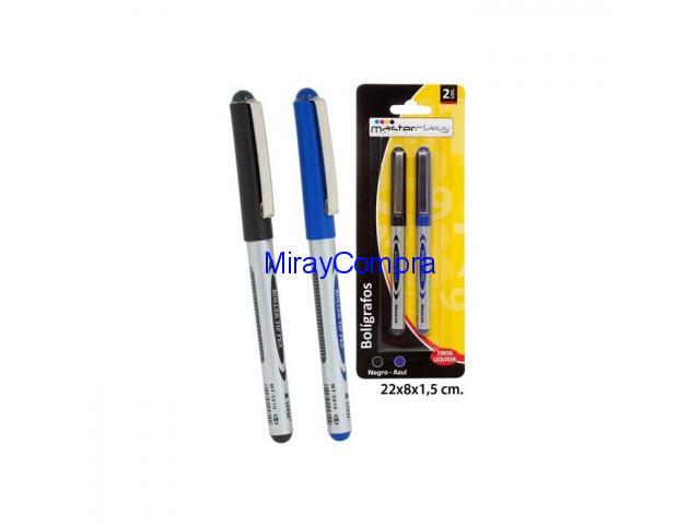 Bolígrafo tinta líquida, Masterclass, 2uds.