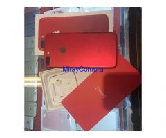 vendo Iphone 7 Rojo Samsung S8plus nuevo
