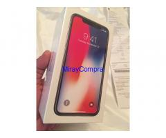 Apple iPhone X 256GB is 510 Euro
